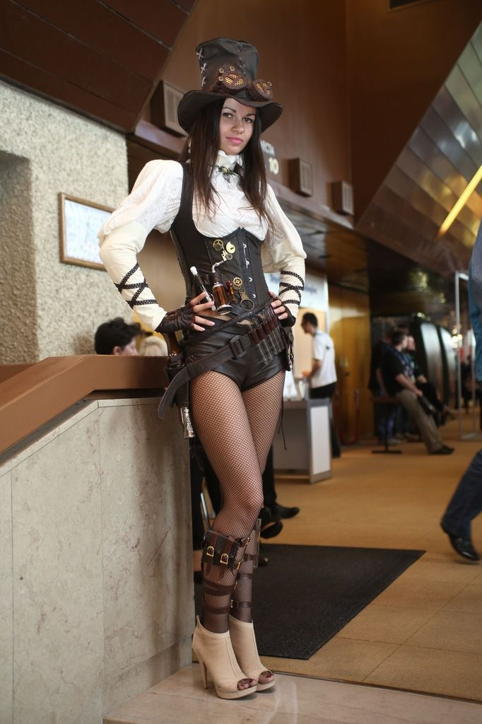 Beauty Steam Punk Halloween Costume u2013 Make Yourself Easy Party Ideas  sc 1 st  Pinterest & 125 best Steampunk images on Pinterest | Costumes Steampunk ...