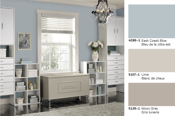 Deco Chambre Zen : This East Coast Blue colour inspires serenity My color for the living