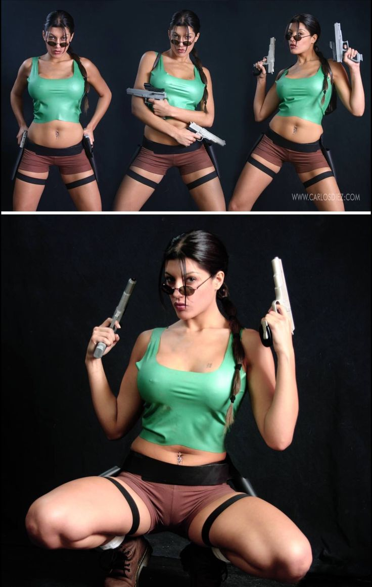 Character: Lara Croft / From: Eidos Interactive & Square Enix's 'Tomb Raider' Video Game Series / Cosplayer: Unknown