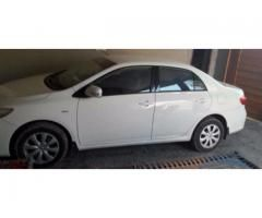 Toyota Corolla white color Model 2014 New tyre Sale In Rahimyar Khan