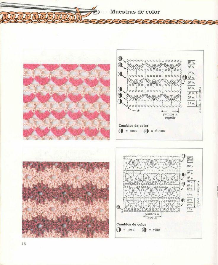 Pin by Brandi Jones on Crochet - Stitches & Charts | Pinterest ...