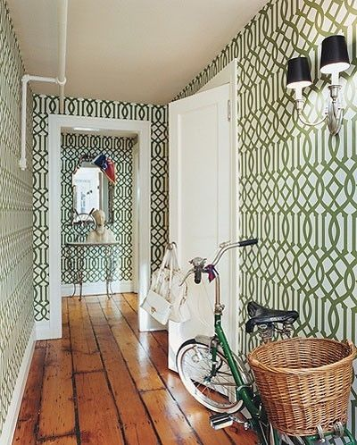 Chloe Sevigny's hallway