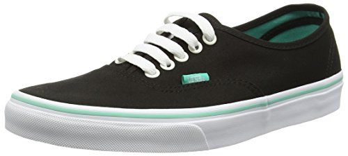Vans Authentic, Unisex-Erwachsene Sneakers, Schwarz (iridescent Eyelets/black), 36.5 EU - http://on-line-kaufen.de/vans/36-5-eu-vans-authentic-unisex-erwachsene-sneakers-73