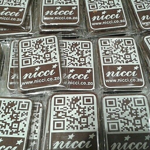 QR code chocolates #niccisummer14