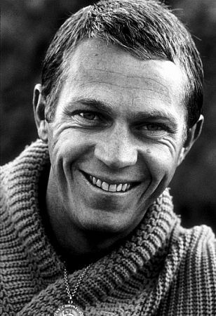 "Steve McQueen. Not huge, or super strong. Just tough. His nickname was ""The King of Cool."" He saved the lives of five other Marines during an Arctic exercise, pulling them from a tank before it broke through ice into the sea."