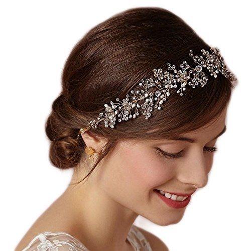 Dobelove мод Кристаллы Люкс свадебный головной убор невесты Аксессуары повязка Tiara от Бестселлеры