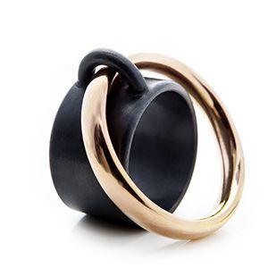 Charlotte Mielko | saturn line ring