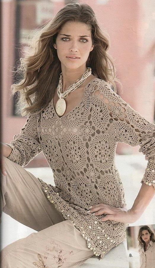 *** CROCHET AND TRICOT INSPIRATION: http://pinterest.com/gigibrazil/crochet-and-knitting-lovers/