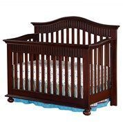Tacoma Crib Cherry 348133625 | In Store Only | Convertible Cribs | Cribs | Nursery | Burlington Coat Factory #babydepotburlington