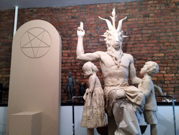 The New Satanic Monument Being Built for Oklahoma's Statehouse