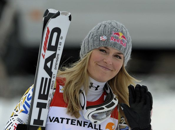 """This season, I've really found my rhythm in GS. It's been a great year,"" Lindsay Vonn, who won today's World Cup giant slalom title, her fourth."