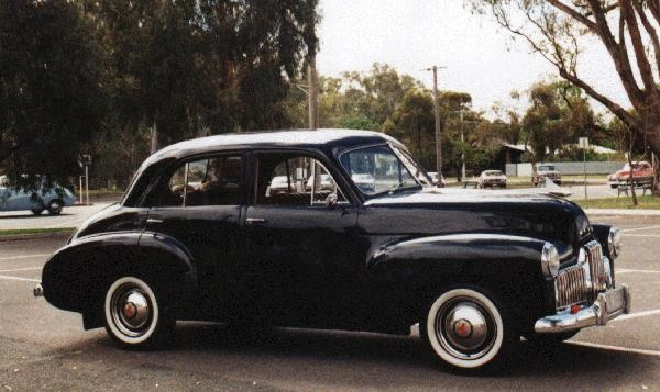 The Car! 1954 Holden FJ