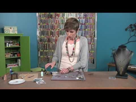 Artbeads Cafe - Layers of Leather with Cynthia Kimura and Candie Cooper - YouTube