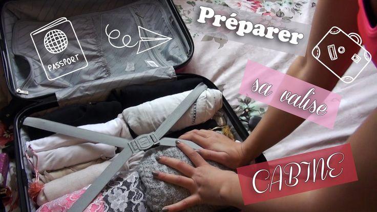 Astuce | Préparer sa valise cabine [Ryanair - EasyJet]