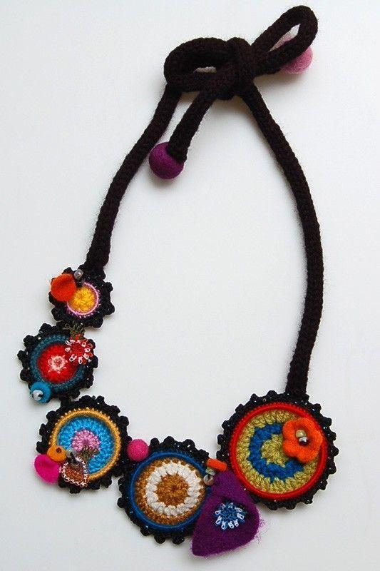 """Résultat de recherche d'images pour """"etsy bijou crochet"""""""