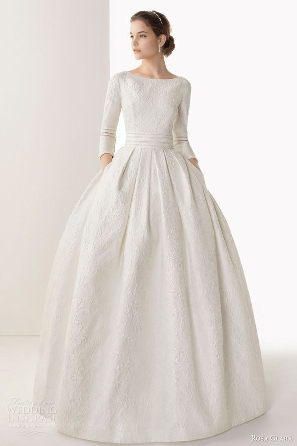 1257 best gowns images on pinterest wedding frocks homecoming rosa clar 2014 wedding dresses junglespirit Choice Image