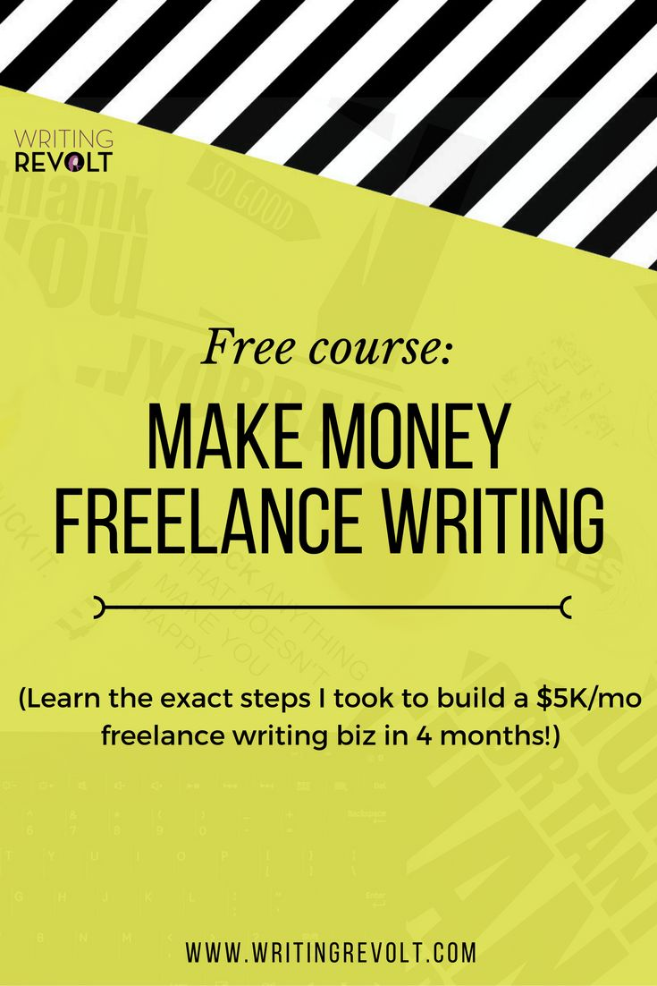 How to Make Money Freelance Writing