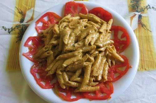 #RicettediPuglia #VieniaMangiareinPuglia  Oggi proponiamo: Insalata di pasta alla crema di mandorle, primo fresco e veloce  Tutta la ricetta qui