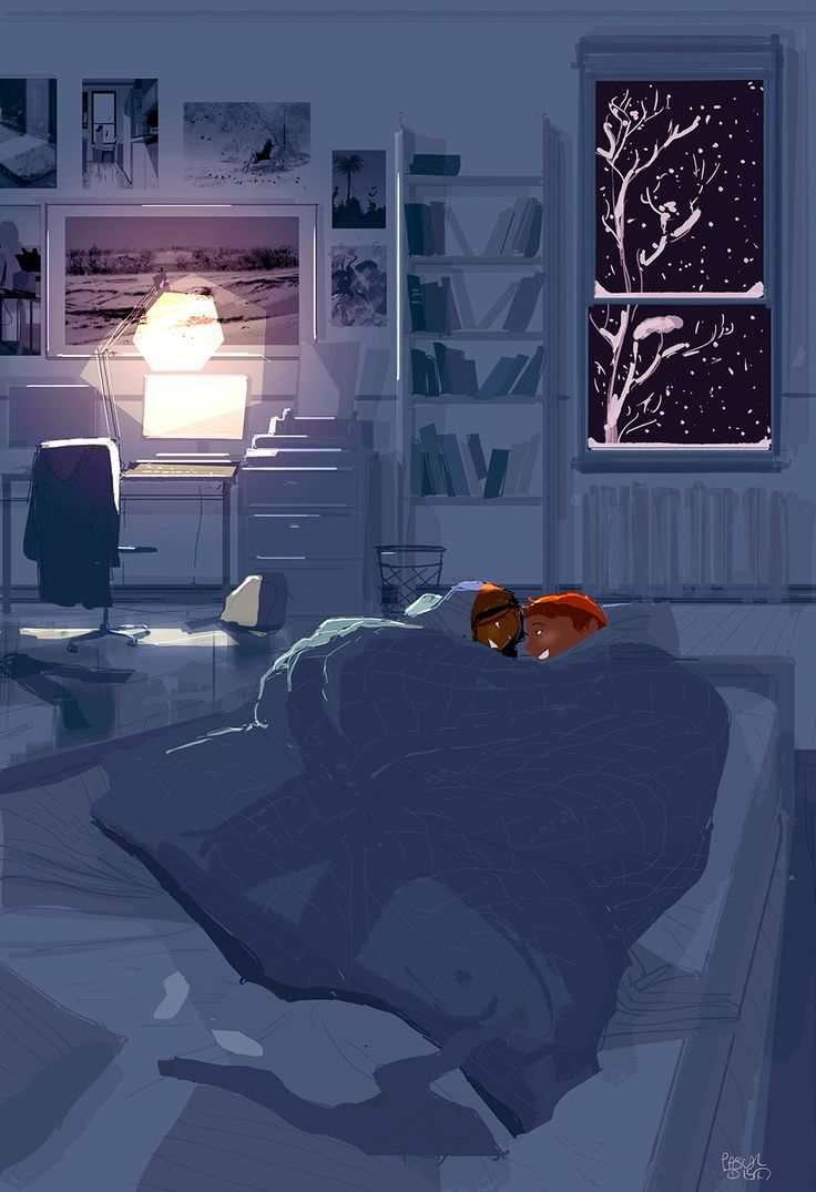 pascal campion: The best place to be on a snowy night