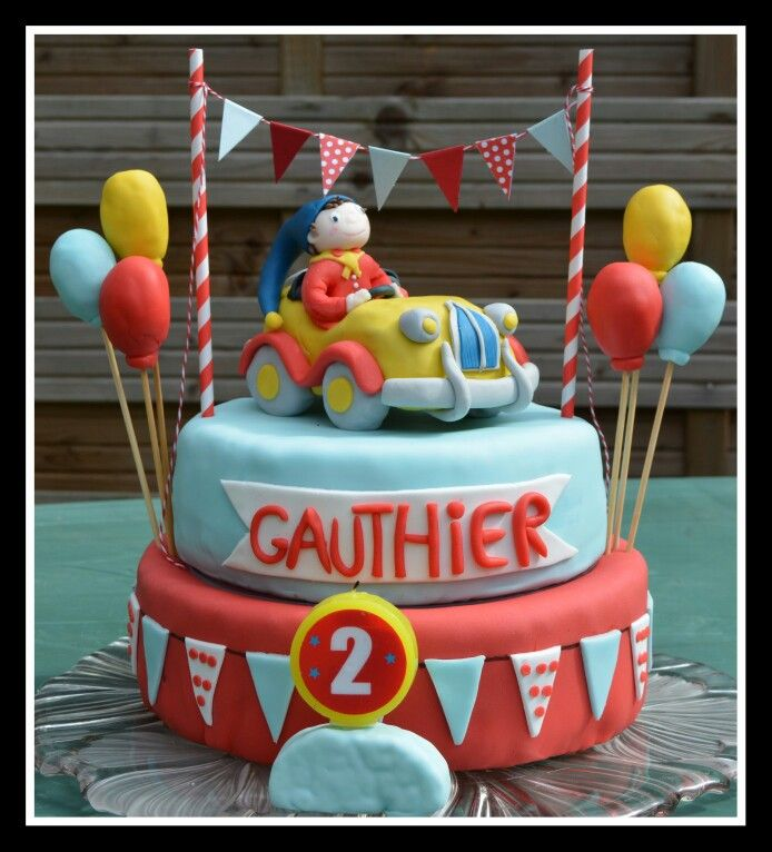 Gâteau anniversaire oui oui