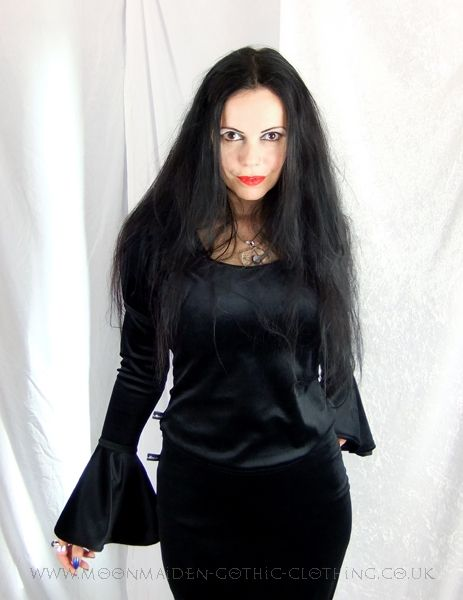 Gothic Clothing | Moonshadow Top by Moonmaiden Gothic Clothing UK