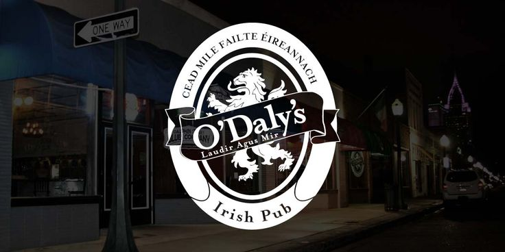 O'Daly's Irish Pub features a traditional Irish pub, a draft-beer sports bar, a live music daiquiri bar, and an outdoor patio. We offer a variety of choices that will surely exceed your expectations. Located in Mobile, Alabama.