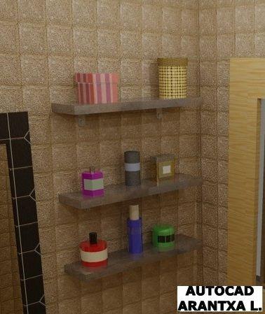 Vista de un detalle del baño
