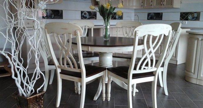 Стол+стулья Брадо комплект (WoodHause), купить обеденный стол, деревянный, Малайзия