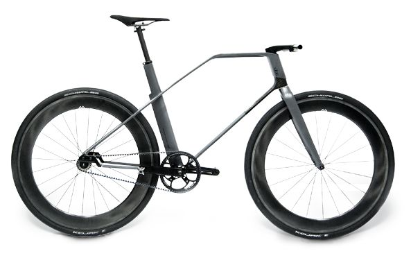 Carbon fibre urban bicycle made by german high tech company UBC composites. Design by Christian Zanzotti.