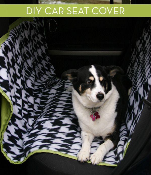 How To: Make a DIY Hammock-Style Dog Car Seat Cover » Curbly | DIY Design Community