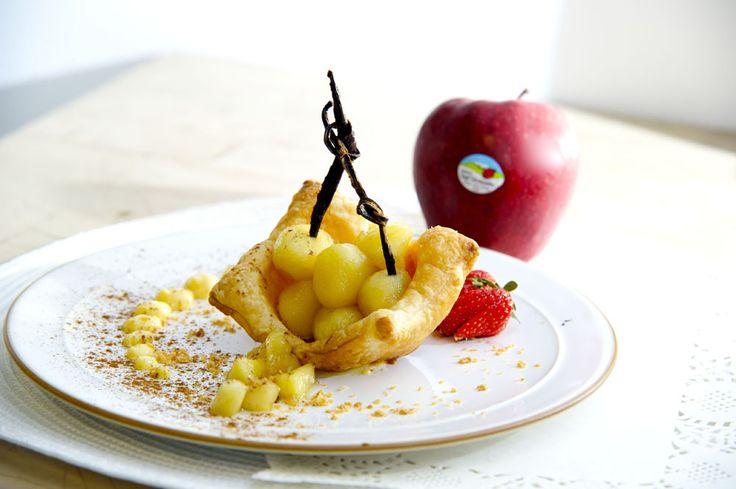 Cestini di pasta sfoglia con Red delicious Val Venosta, in collaborazione con la Scuola di cucina Congusto