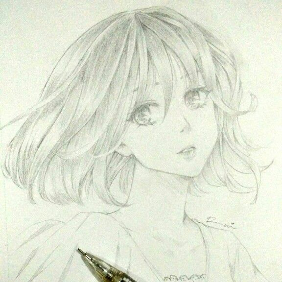 practice, practice, practice... #pencil #illustration #manga