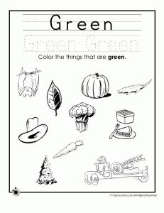 Learning Colors Worksheets for Preschoolers | Classroom Jr.