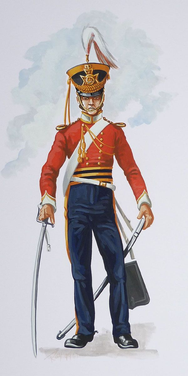 British; 13th Regiment of Light Dragoons, Officer, 1832 by Ray FitzPatrick