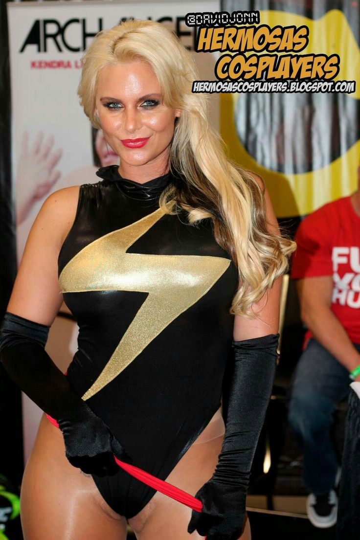 Phoenix Marie As Ms Marvel Leotards And Tights