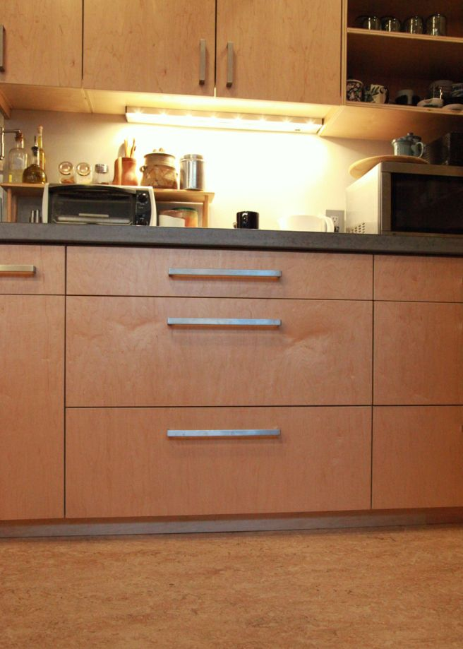 Cabinets Are Made Locally From FSC Certified Prefinished Maple Veneer  Plywood With No Added Urea Formaldehyde