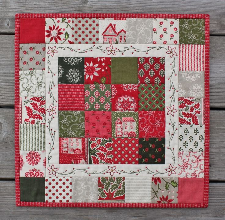 Christmas Candy Mini Quilt « Moda Bake Shop