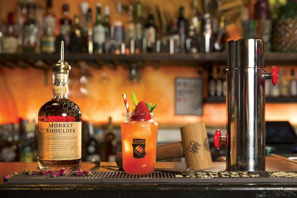 #Cocktail Monkey Jam Sour #whisky #mixologie #gastronomie