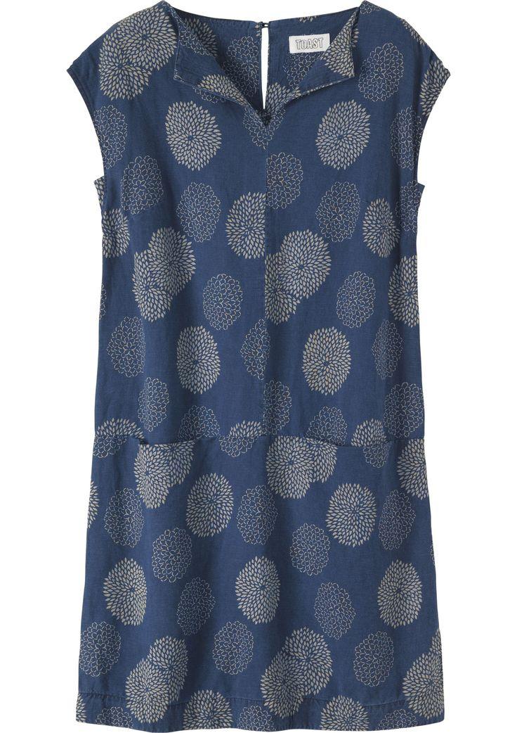 Women's Linen Cotton Asuka Tunic Dress   Toast