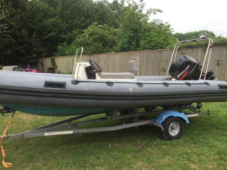 5m rib for sale 60hp Mercury 4 stroke | in Exeter, Devon | Gumtree
