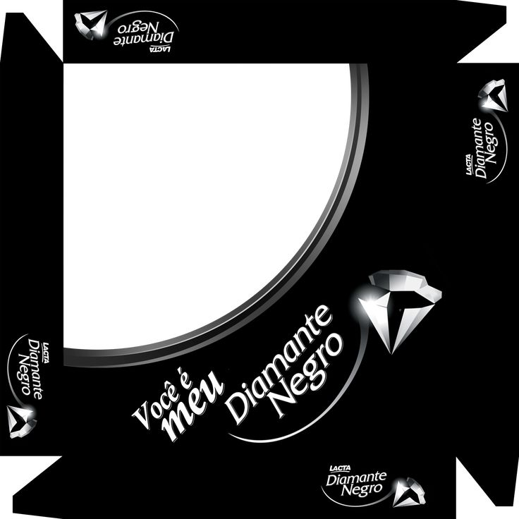 Caixa de Bombom Dia dos Namorados Diamante Negro