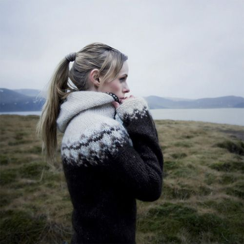 Rebekka Guðleifsdóttir - Icelandic Sweaters. They really wear these all the time…
