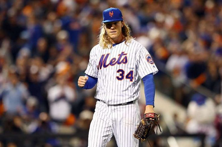 Top 25 MLB players under 25:      6. NOAH SYNDERGAARD, SP, NEW YORK METS  -    Matt who? Noah Syndergaard is the true ace of the Mets, and his 2016 campaign proved it. Syndergaard posted a sizzling 97.9 mph fastball velocity, which broke the record previously set by... himself, in 2015. Add in a 2.60 ERA, a 6.0 WAR (sixth in the league among all players) and a frightening 10.7 K/9 average...  MORE...