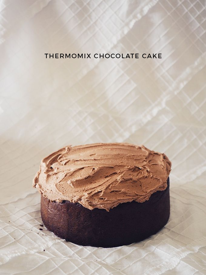 Today's morning tea. Thermomix chocolate cake