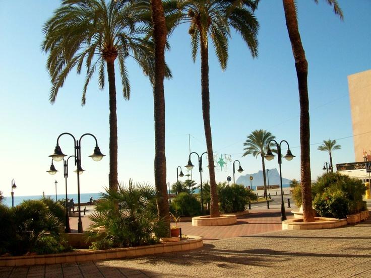 Moraira Promenade