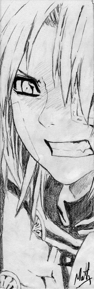 Manga by My-or.deviantart.com on @deviantART It's Allen Walker!!! <3