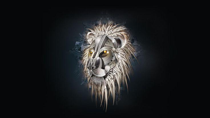 1920x1080 Digital Steampunk Lion HD Wallpapers 1080p