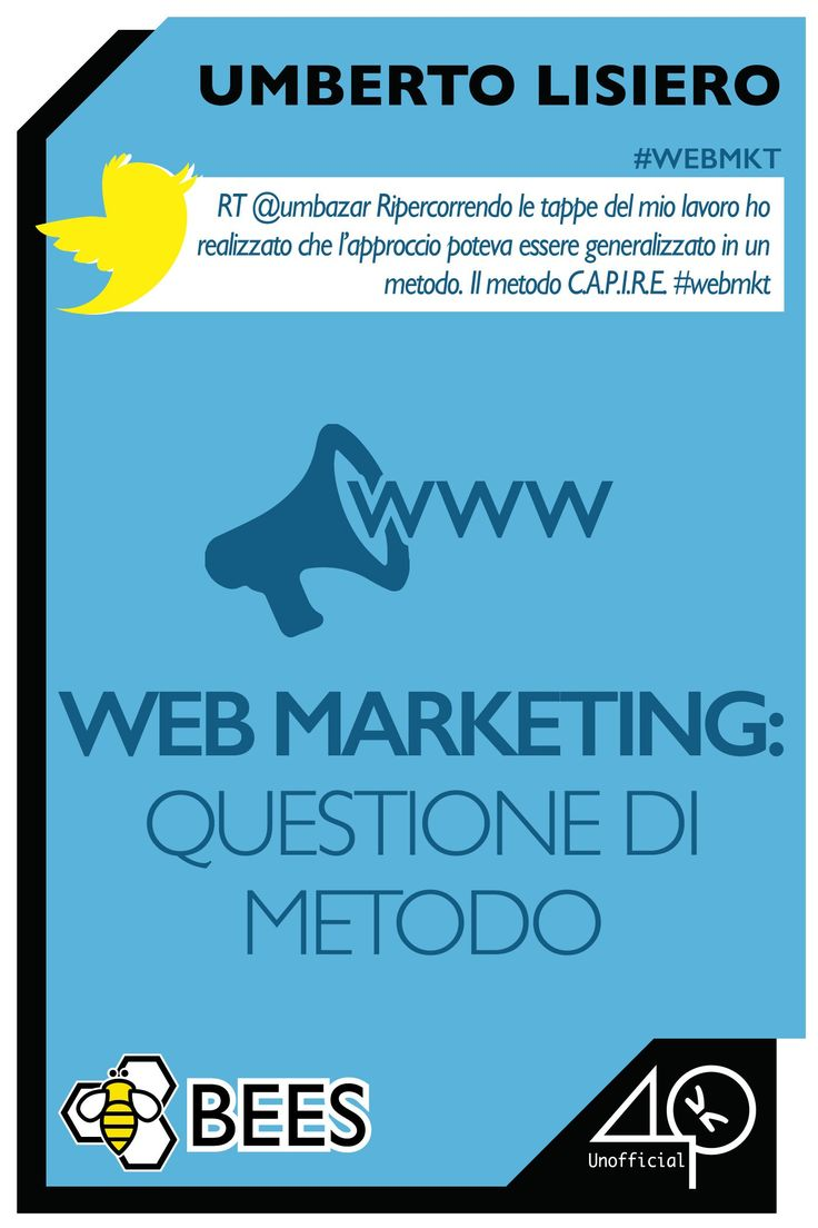 Web Marketing: questione di metodo