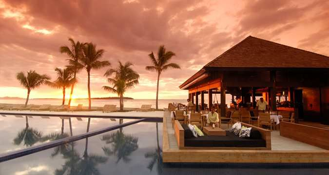 Indulge in an unforgettable spa treatment or relax by the spectacular swimming complex - offering seven separate pools - at Fiji Beach Resort & Spa managed by #Hilton