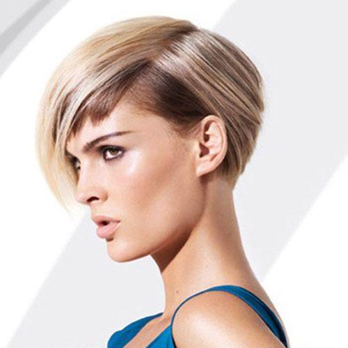 Coiffure femme cheveux courts Les femmes ayant ce type de style de ...